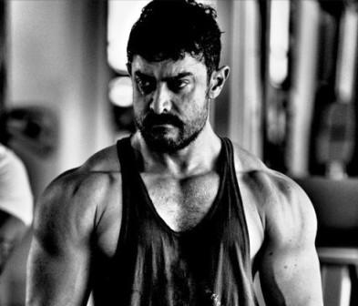 Aamir Khan's muscular 'Dangal' look revealed