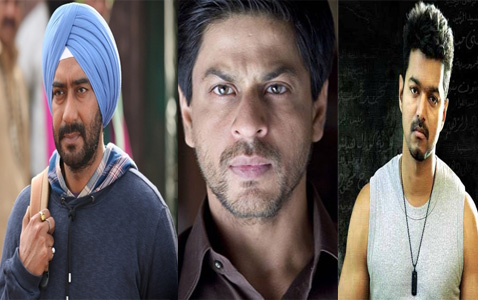 Ajay, Vijay and SRK set for big fight on Diwali day