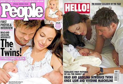 Angelina Jolie Pregnant Twins. Angelina Jolie
