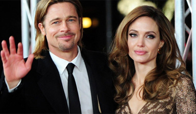Brangelina splash out on Liverpool kits for kids