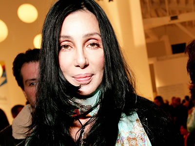 Cher uses facelift tape for younger look