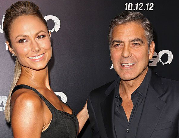 Clooney-Keibler, Cheryl-Tre step out in matching outfits