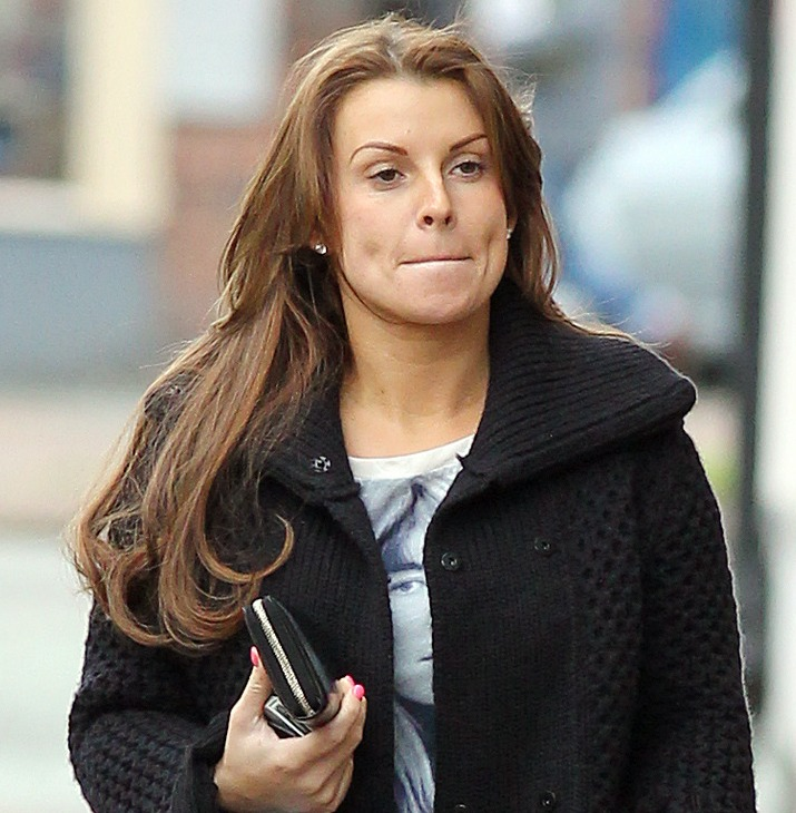 Pregnant Coleen Rooney indulges in some retail therapy