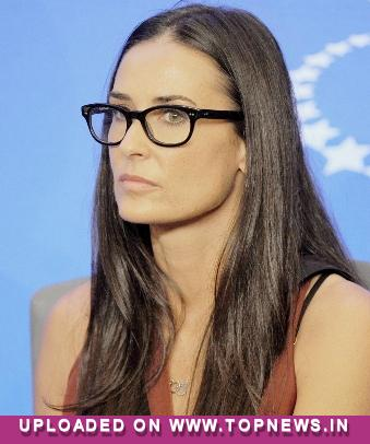 Demi Moore `shocked` by ex-Ashton Kutcher's divorce papers