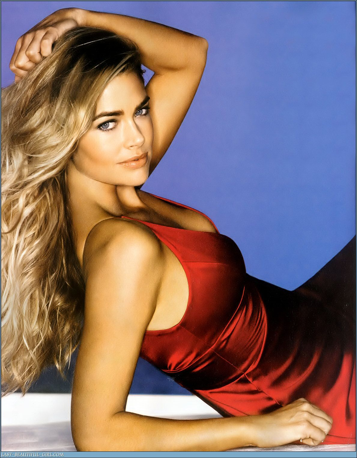 wallpapers of celebrity denise richards hair style