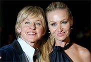 Ellen DeGeneres, Portia de Rossi named best celebrity babysitters