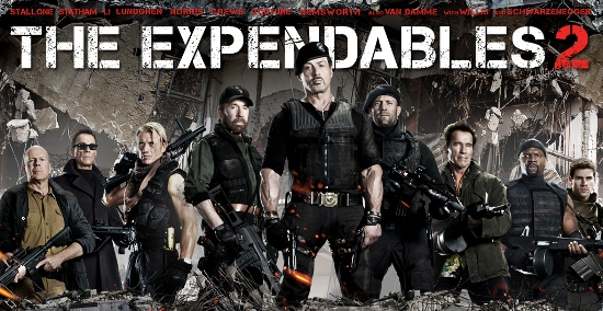 'The Expendables 2' - a nostalgia reloaded