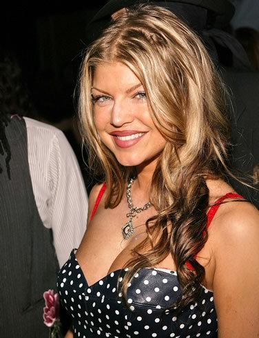 fergie topless
