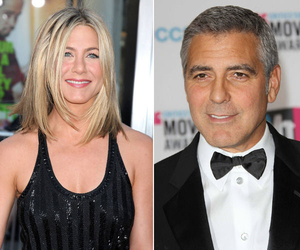 Aniston and Clooney `celebs most people want to spend apocalypse with`
