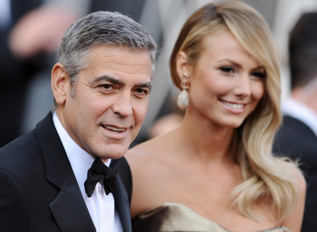 George Clooney `still dating Stacy Keibler`