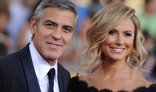 Stacy Keibler moves in with George Clooney