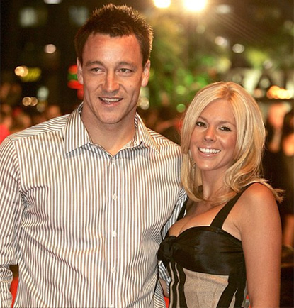 John Terry and wife watch strippers at X-rated show