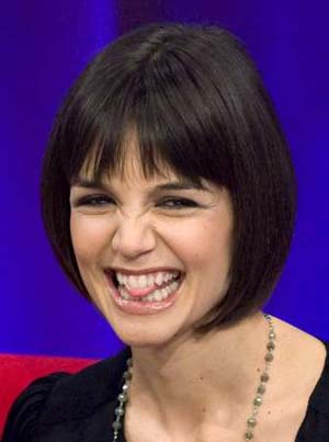 katie holmes short haircut photos. Katie Holmes latest hairstyle