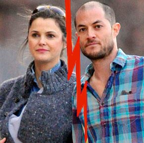 Keri Russell and hubby headed for divorce