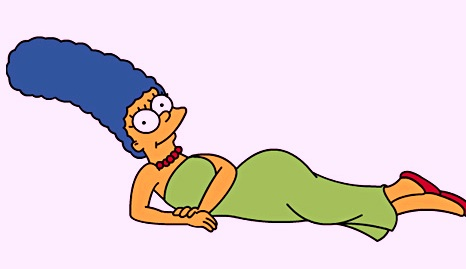 Marge Simpson's hair tops hair poll