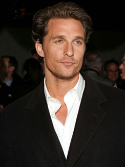 McConaughey saves son from ram attack during Arizona vacation