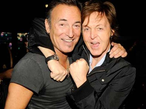 Paul McCartney and Bruce Springsteen to perform at Sandy benefit gig