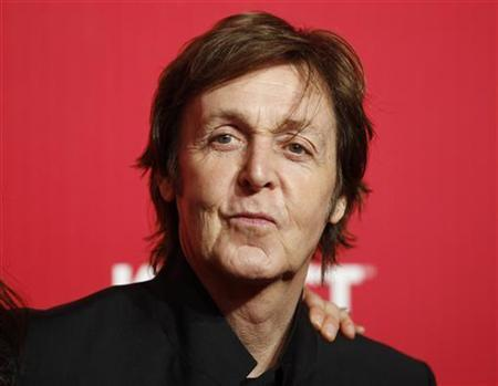 Rainy Valentine's Day inspired Paul McCartney to write romantic song for wife