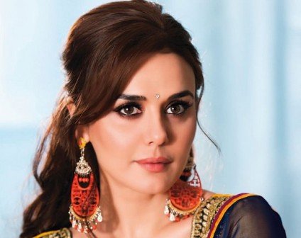 Newlywed Preity is back in country