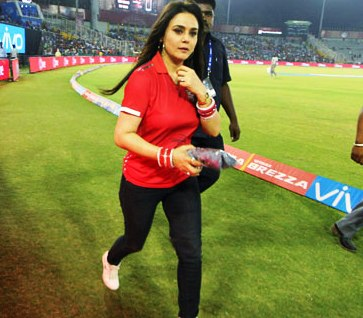Kings XI Punjab 'ran out of luck': Preity Zinta