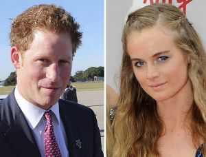 Prince Harry could be marrying girlfriend Cressida Bonas soon