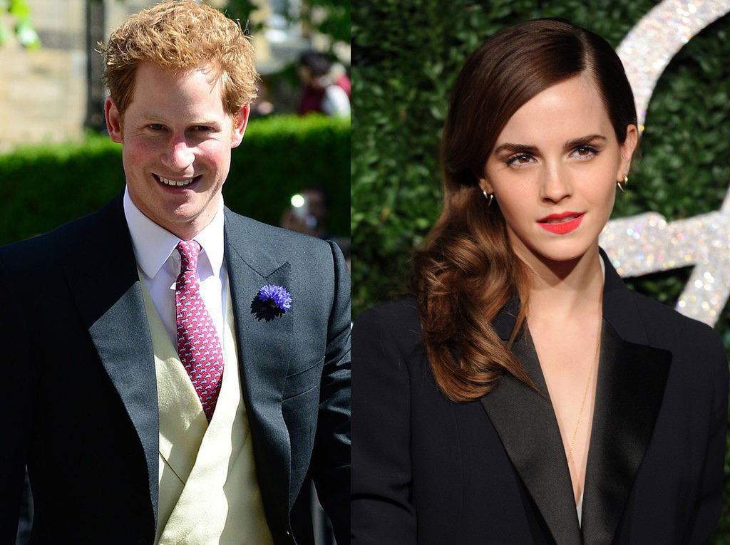 Prince Harry, Emma Watson dating rumors receive mix reviews on Twitter