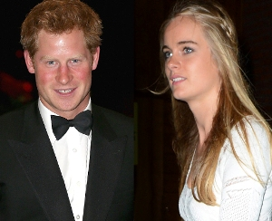 Prince Harry to co-host event with girlfriend Cressida Bonas