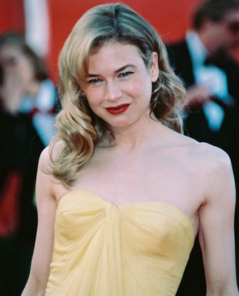 Renee-Zellweger2.jpg (JPEG Image, 344x425 pixels) :  classic hair renee zellweger celebrity fashion red lips