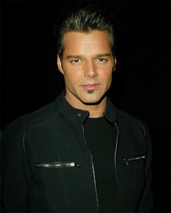 ricky martin kids. Ricky Martin to be saluted by