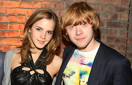 emma watson kissing her boyfriend. Rupert Grint, Emma Watson
