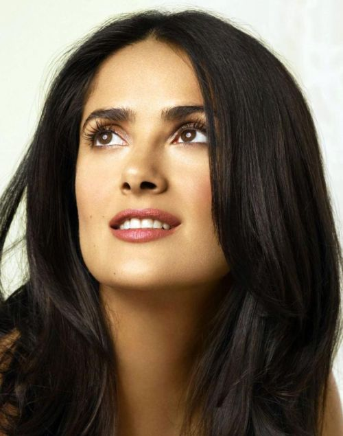 Salma Hayek credits own cosmetics for young look