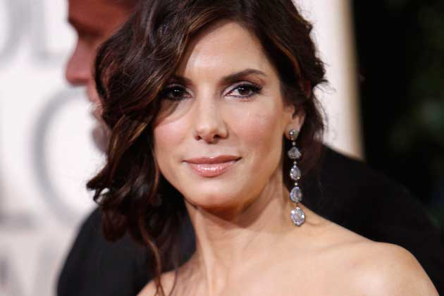 Sandra Bullock strips off for comedy scene on US TV show
