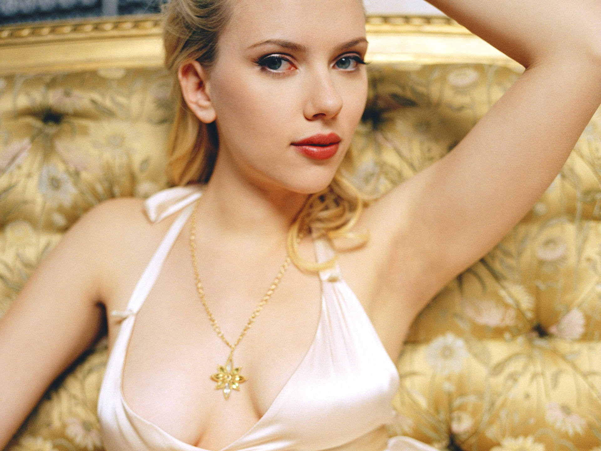 London june 7 actress scarlett johansson is seen as a young liberal