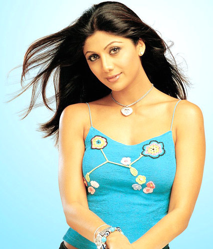 Bollywood actor Shilpa Shetty shoots for cricket music video