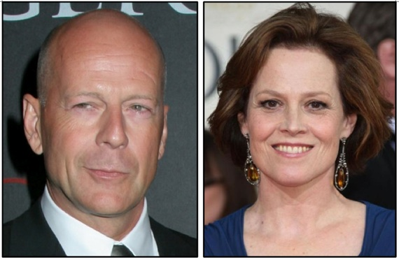 Bruce Willis and Sigourney Weaver top f