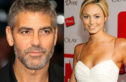 Clooney goes public with rumoured girlfriend