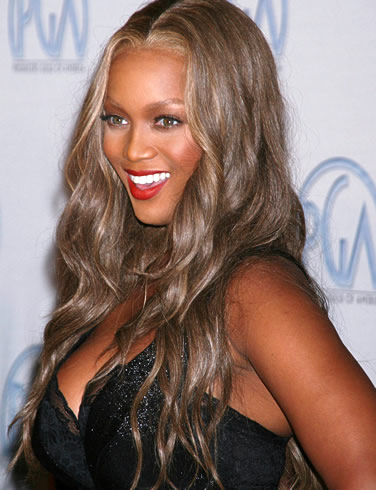 Tyra Banks loves to bare all, but at home!
