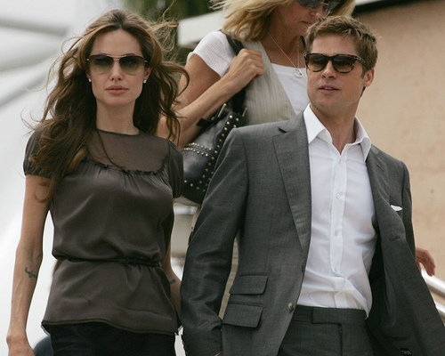 angelina jolie and brad pitt movies. Jolie, Pitt compete in 2009