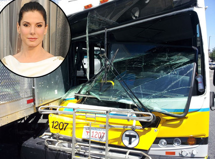 Car accident on Bullock's movie set