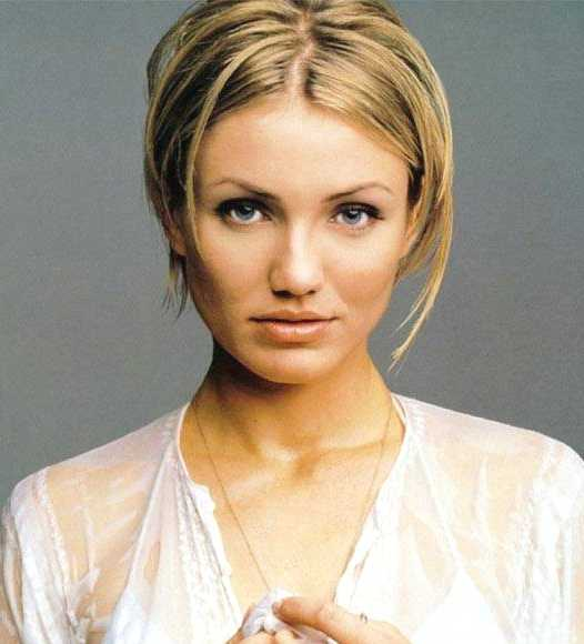 Short Celebrity Hairstyles - Cameron Diaz Hair