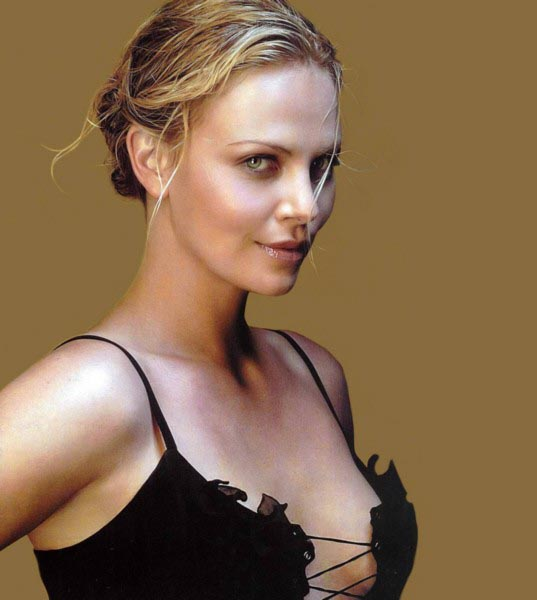 charlize theron takes B12
