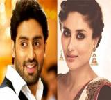 Abhishek Bachchan and Kareena kapoor