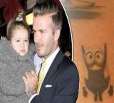 Becks gets adorable new tattoo for daughter Harper