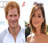 Prince Harry gets cozy with 'Dr Who' actress at polo bash