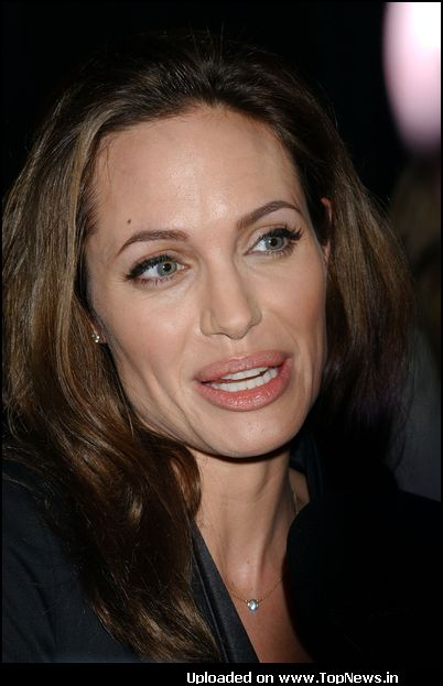 Angelina Jolie at International Women's Media Foundation Awards