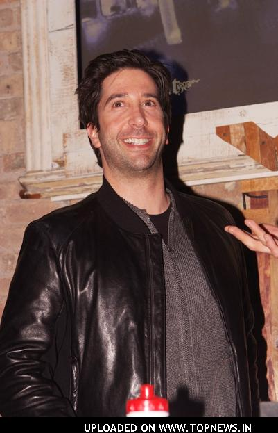 "David Schwimmer at ""Run Fat Boy, Run"" Chicago Premiere"