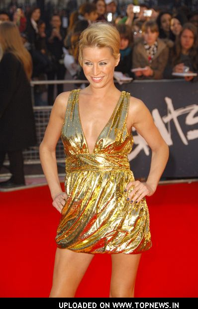 Denise van Outen at The Brit Awards 2008