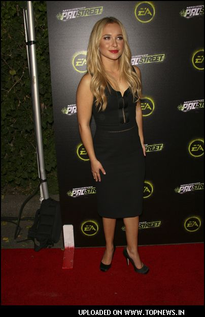 "Hayden Panettiere at EA's Official Launch of ""Need for Speed"" Prostreet Game"