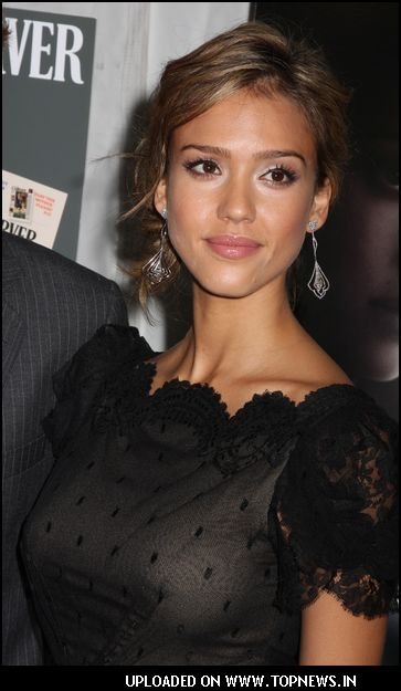 "Jessica Alba at ""Awake"" New York City Premiere"