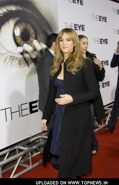 "Jessica Alba At ""The Eye"" Los Angeles Premiere"